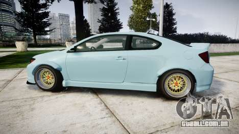 Scion tC Duck Edition para GTA 4 esquerda vista