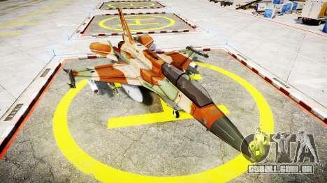 Lockheed F-16I Sufa Storm para GTA 4