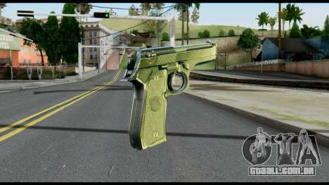 Beretta from Max Payne para GTA San Andreas segunda tela