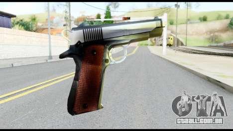Colt 1911A1 from Metal Gear Solid para GTA San Andreas segunda tela