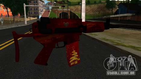 De Véspera de Ano novo Rifle de Assalto 2 para GTA San Andreas segunda tela
