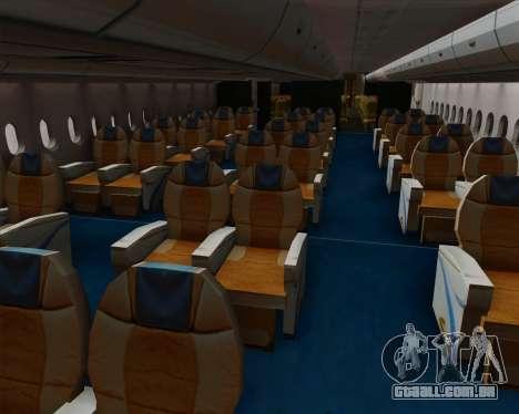 Airbus A380-800 Philippine Airlines para as rodas de GTA San Andreas