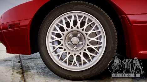Mazda RX-7 1990 FC3s [EPM] para GTA 4 vista de volta