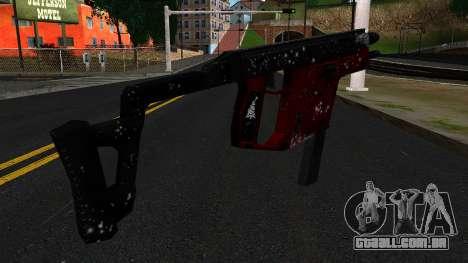 Natal MP5 para GTA San Andreas segunda tela