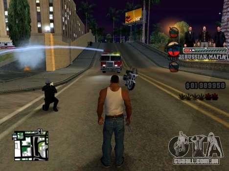 C-HUD Russian Mafia para GTA San Andreas terceira tela