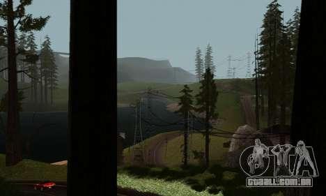 ENBSeries v6 By phpa para GTA San Andreas quinto tela
