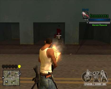 C-HUD Excellent para GTA San Andreas segunda tela