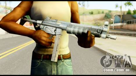 MP5 com Decomposta Bunda para GTA San Andreas terceira tela