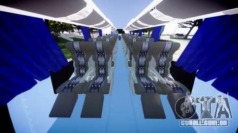 Marcopolo Paradiso G7 1200 para GTA 4 vista de volta