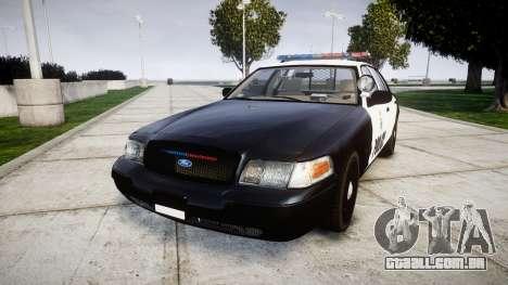 Ford Crown Victoria Ontario Police [ELS] para GTA 4