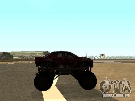 SuperMotoXL Zen MaXXimus CD 17.1 XL-HT para GTA San Andreas vista traseira