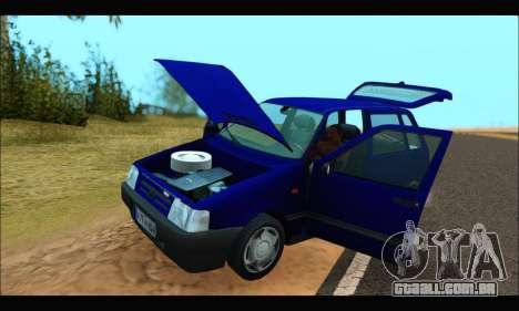 Zastava Yugo Uno para GTA San Andreas vista direita