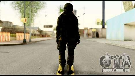 Attack Plane from Battlefield 4 para GTA San Andreas segunda tela