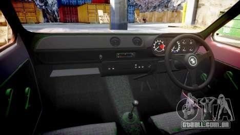 Ford Escort Mk1 para GTA 4 vista lateral