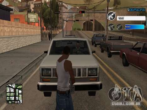 C-HUD by SampHack v.22 para GTA San Andreas