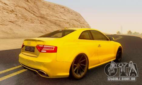 Audi RS5 (RC) para GTA San Andreas esquerda vista