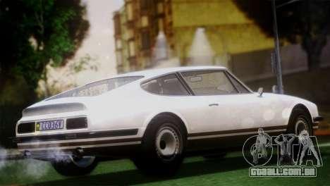 GTA 5 Lampadati Pigalle (IVF) para GTA San Andreas traseira esquerda vista