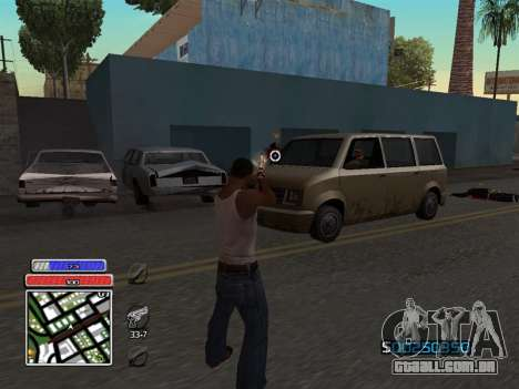 C-HUD Unique v4.1 para GTA San Andreas terceira tela