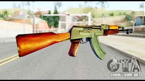 AK47 from Metal Gear Solid para GTA San Andreas segunda tela