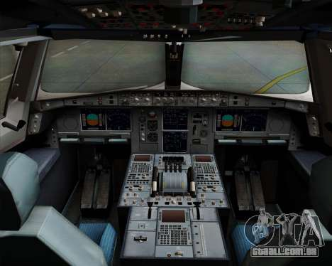 Airbus A380-800 Philippine Airlines para GTA San Andreas interior