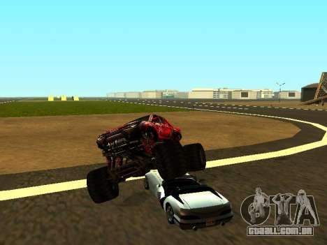 SuperMotoXL Zen MaXXimus CD 17.1 XL-HT para GTA San Andreas interior