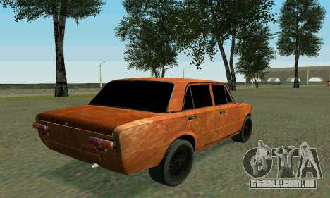 VAZ 2101 Ratlook v2 para GTA San Andreas vista inferior