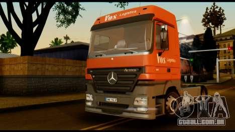 Mercedes-Benz Actros PJ2 para GTA San Andreas