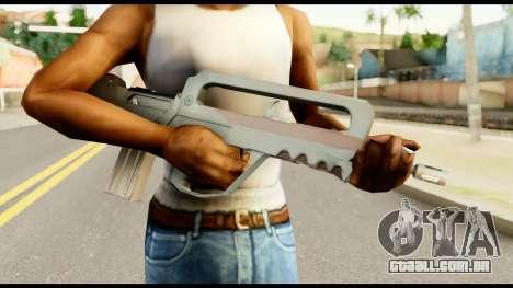 Famas from Metal Gear Solid para GTA San Andreas terceira tela