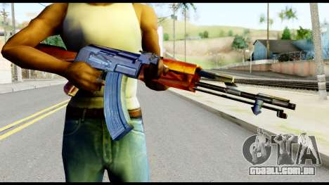 AK47 from Metal Gear Solid para GTA San Andreas terceira tela