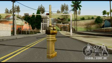 TNT Detonator from Metal Gear Solid para GTA San Andreas segunda tela