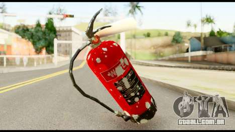 Fire Extinguisher with Blood para GTA San Andreas segunda tela