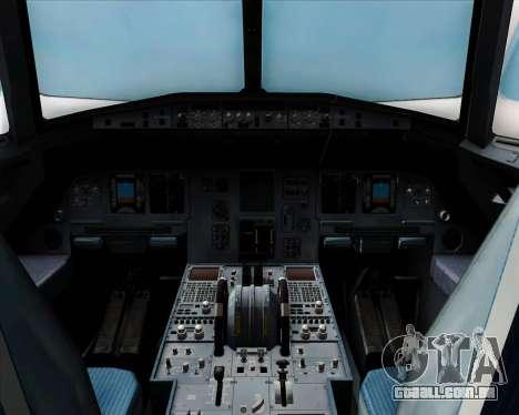 Airbus A320-200 Air Asia Japan para vista lateral GTA San Andreas