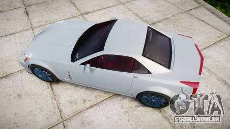 Cadillac XLR-V 2009 para GTA 4 vista direita