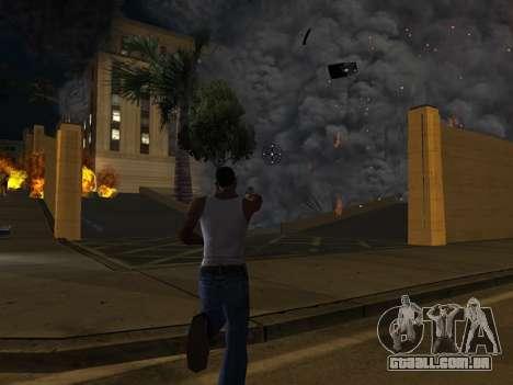 Realistic Effect 3.0 Final Version para GTA San Andreas por diante tela