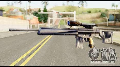 PSG1 from Metal Gear Solid para GTA San Andreas