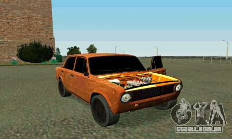 VAZ 2101 Ratlook v2 para GTA San Andreas vista superior