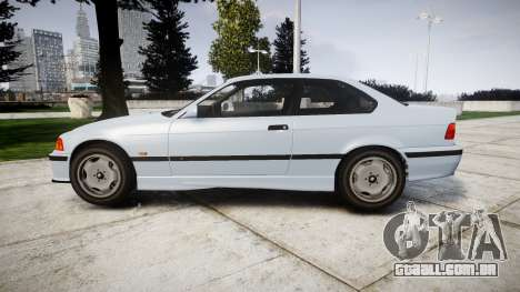 BMW E36 M3 [Updated] para GTA 4 esquerda vista