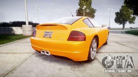 GTA V Schyster Fusilade Tuning para GTA 4