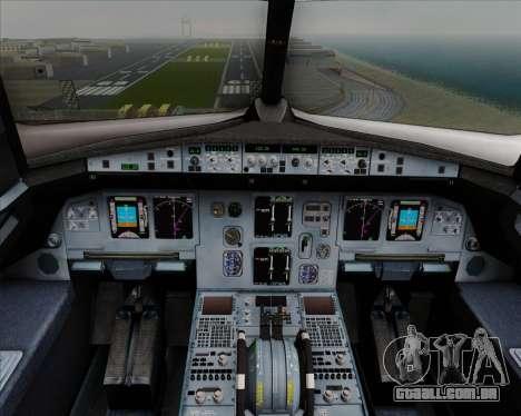 Airbus  A320-200 Delta Airlines para GTA San Andreas interior