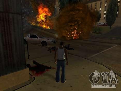 Realistic Effect 3.0 Final Version para GTA San Andreas terceira tela