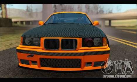 BMW e36 Drift para GTA San Andreas vista direita