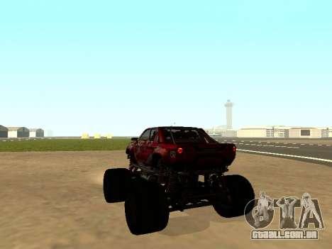 SuperMotoXL Zen MaXXimus CD 17.1 XL-HT para GTA San Andreas esquerda vista