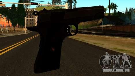 Colt 1911 from Battlefield 3 para GTA San Andreas segunda tela