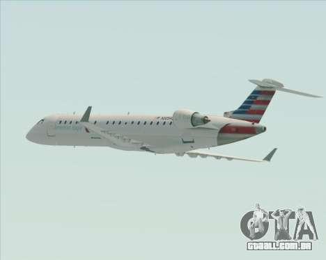 Bombardier CRJ700 American Eagle Airlines para as rodas de GTA San Andreas