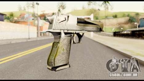 Desert Eagle from Metal Gear Solid para GTA San Andreas segunda tela