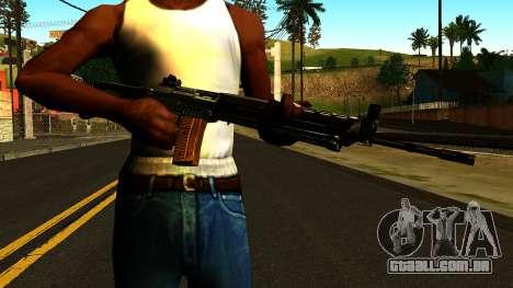 SIG-550 from S.T.A.L.K.E.R. para GTA San Andreas terceira tela