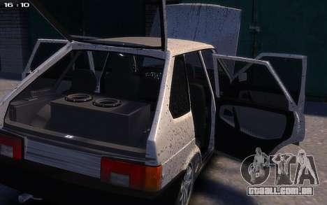 VAZ 2109 para GTA 4 vista direita