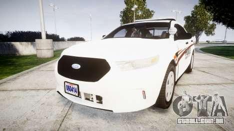 Ford Taurus 2014 Police Interceptor [ELS] para GTA 4