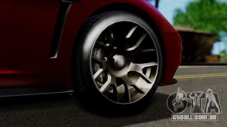 GTA 5 Dewbauchee Massacro Racecar (IVF) para GTA San Andreas vista direita