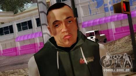 GTA 4 Skin 74 para GTA San Andreas terceira tela